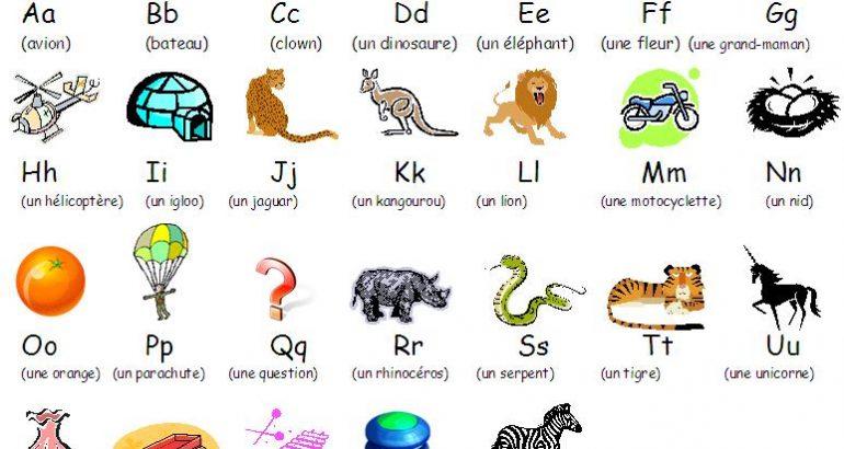 alphabet illustre