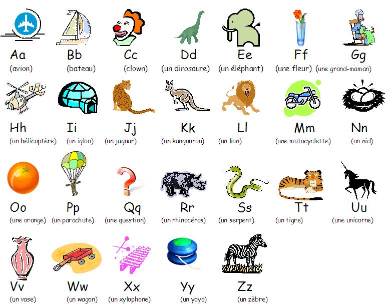 alphabet illustre