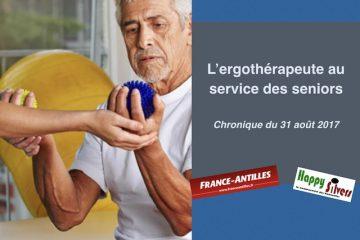 L'ergothérapeute au service des seniors vivant à domicile