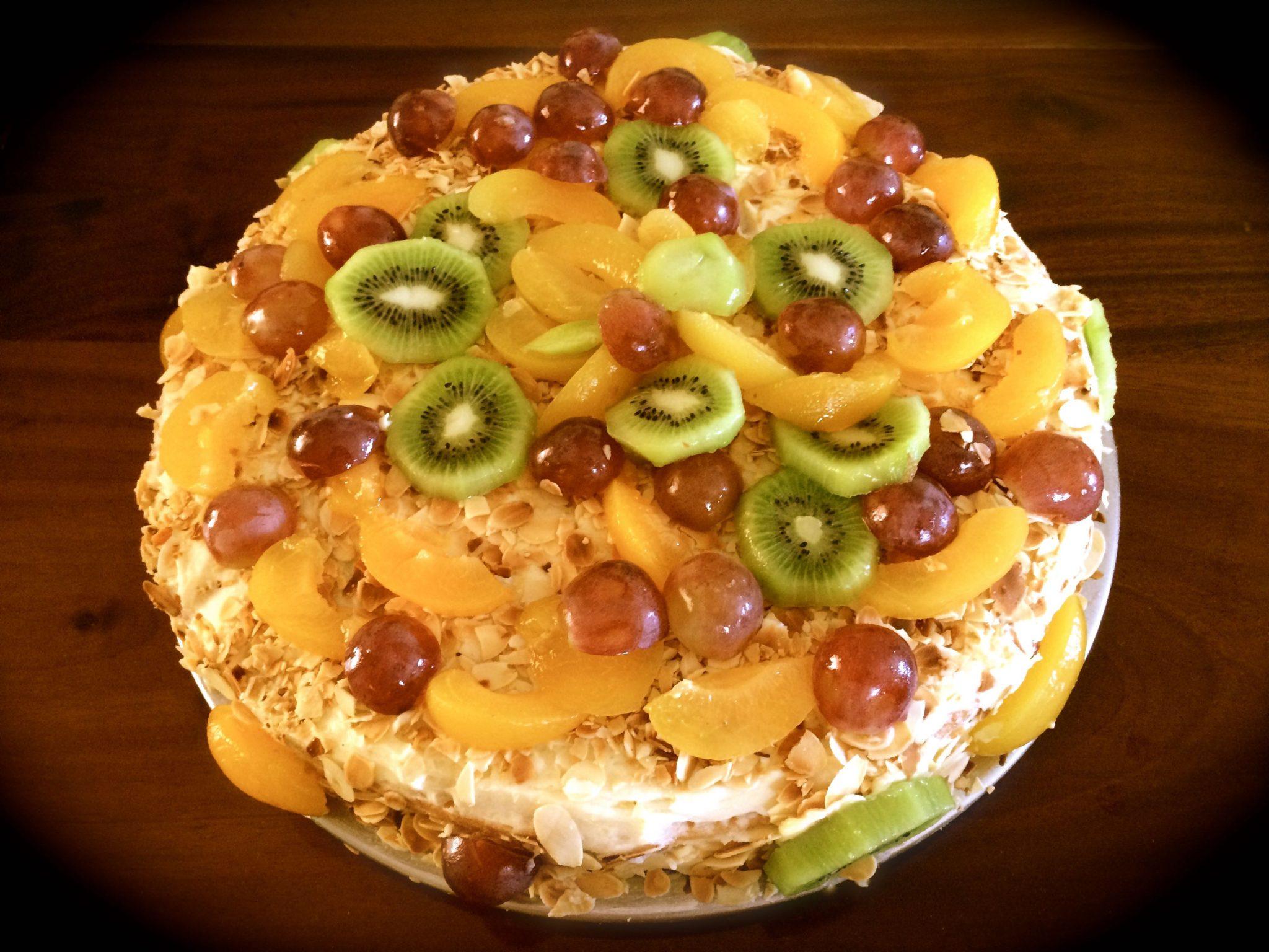 Tutti Frutti, un gâteau plein de fruits