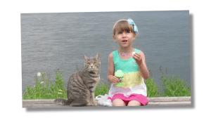 chat ou chien enfant