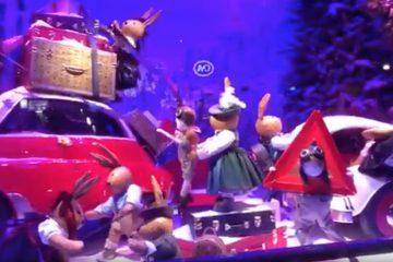 Vidéo Illuminations de Noël à Paris