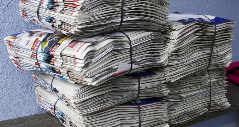 journaux recyclage produits