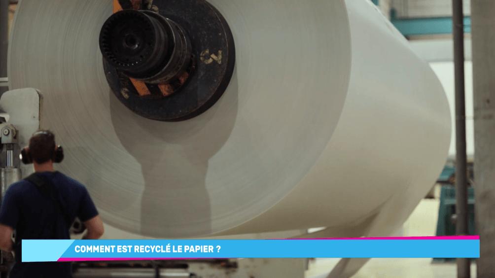 papier recycle produits