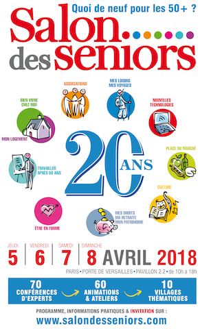 salon seniors Paris 2018