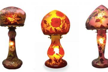 Des lampes Tip Gallé pour décorer son intérieur