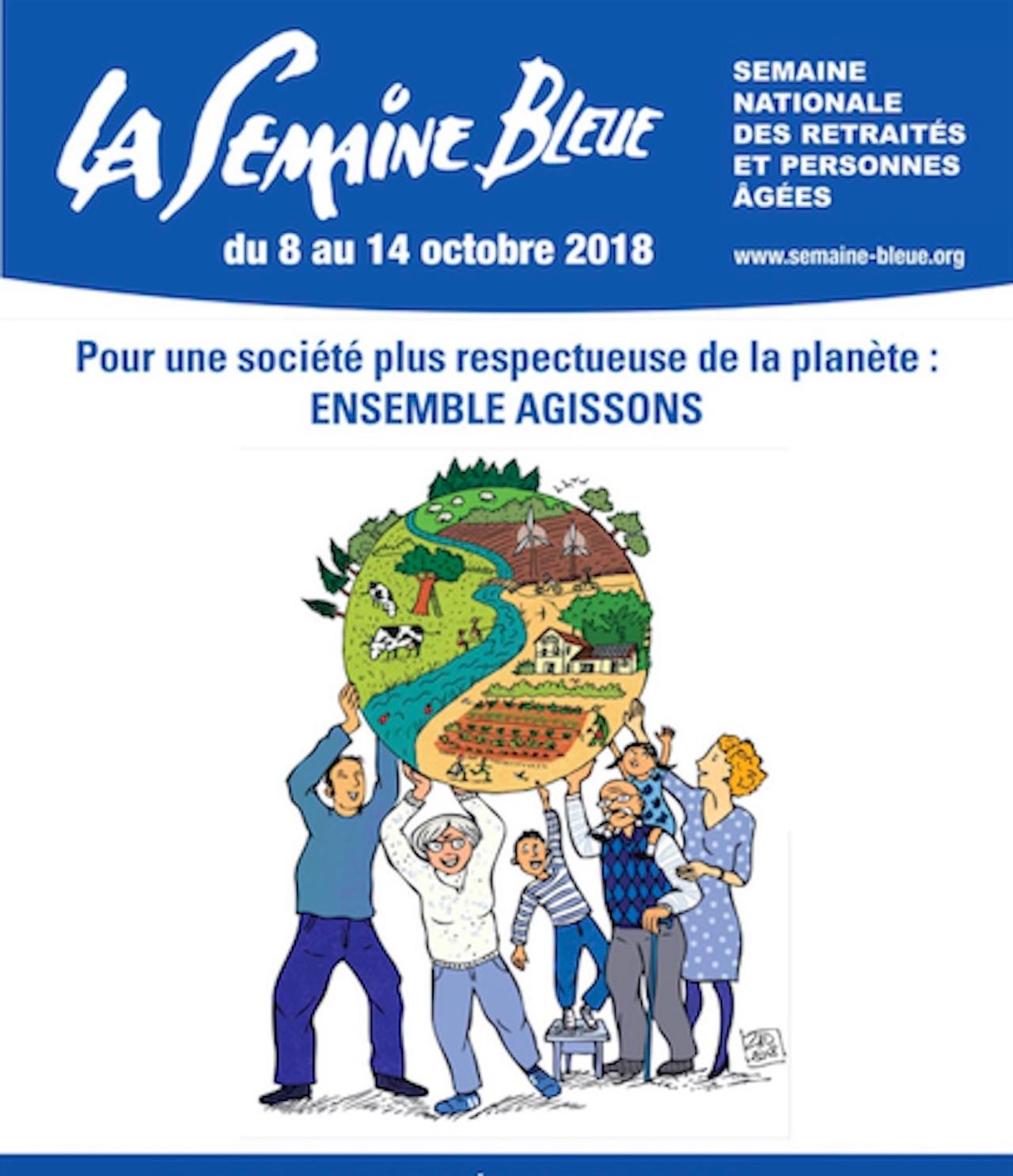 Programme de la semaine bleue - Martinique/Guadeloupe
