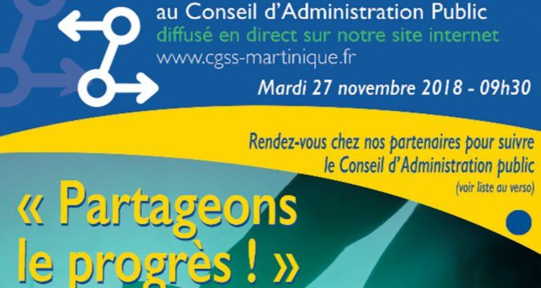 Conseil administration CGSS