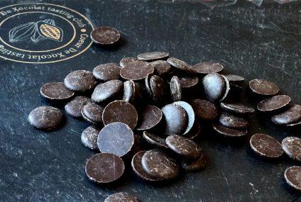 Mousse au chocolat et au giraumon