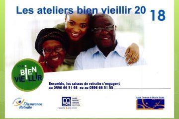Les ateliers 2018 du programme Bien Vieillir de la CGSS Martinique