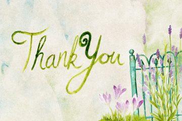 Merci pour votre fidélité !