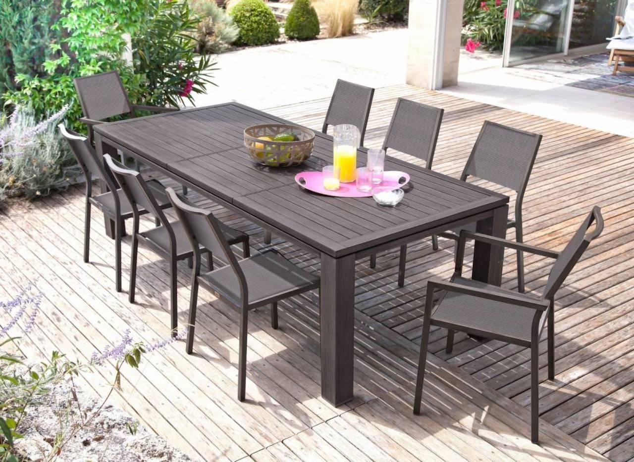 Les grandes tables de jardin pour recevoir toute sa famille – Happy ...