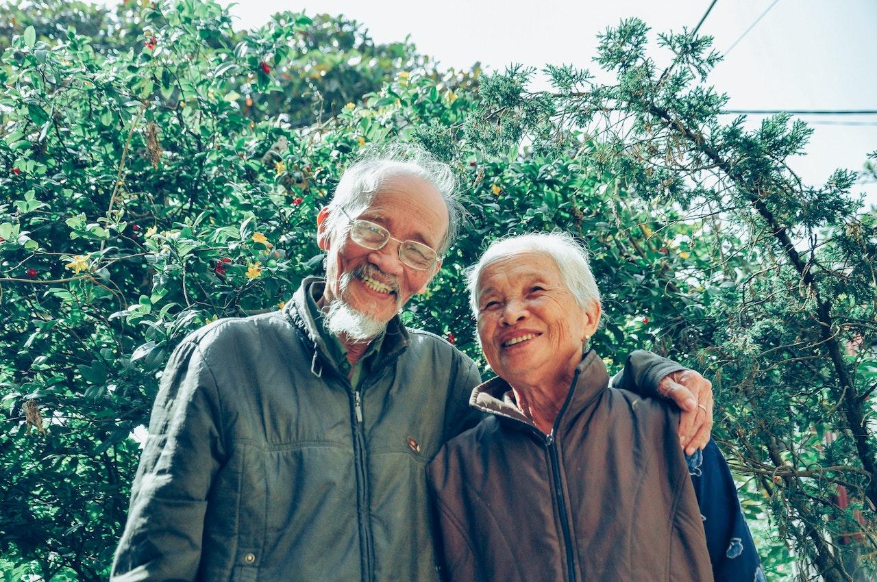 seniors sourire