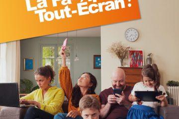 La famille tout écran (2)