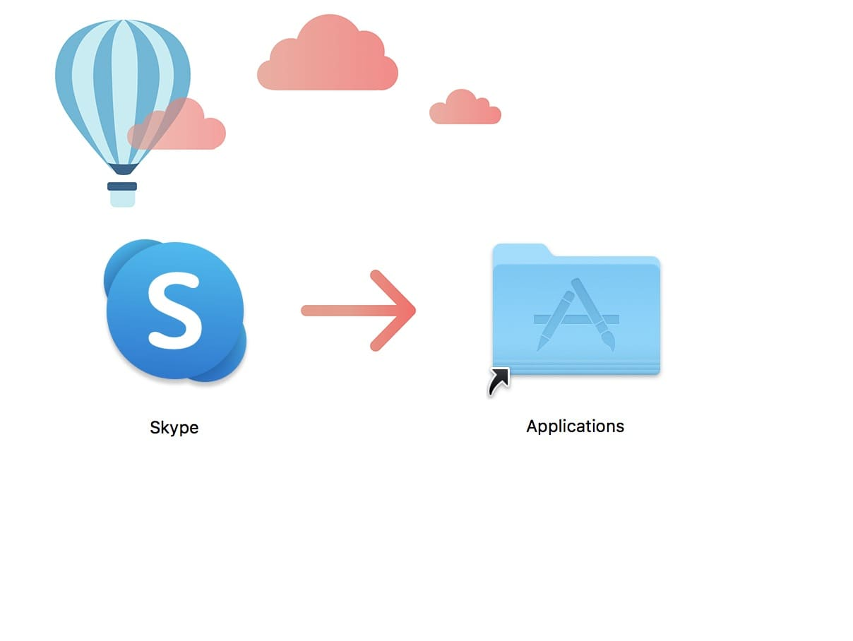 Installation Skype Mac