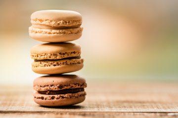 Macarons au chocolat, un délice !