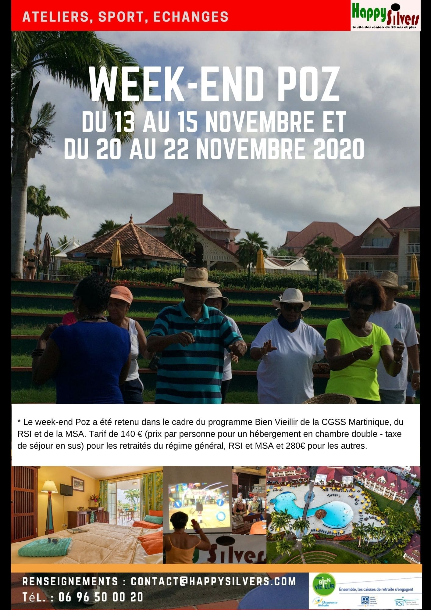 Week end Poz novembre