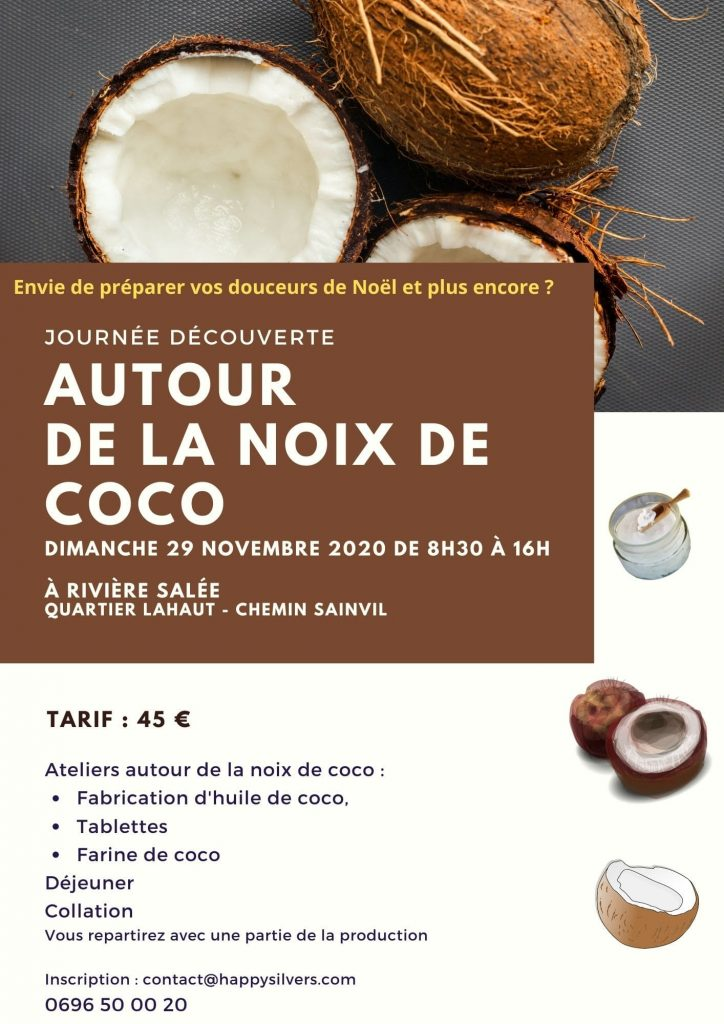 Journee decouverte autour de la noix de coco