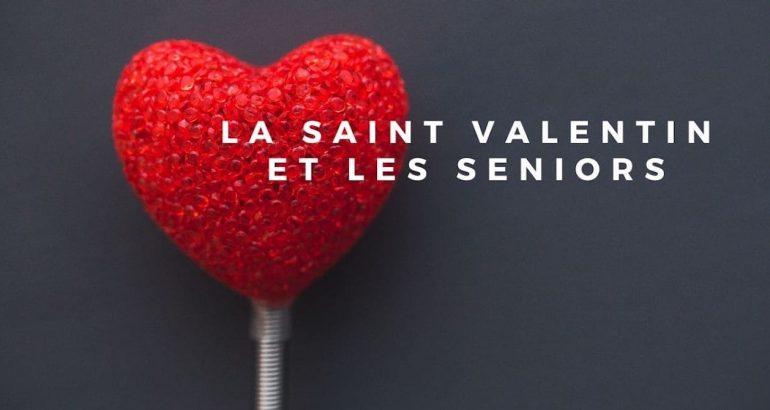 La Saint Valentin et les seniors