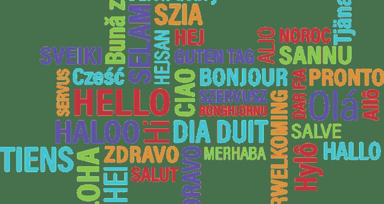 Langue etrangere