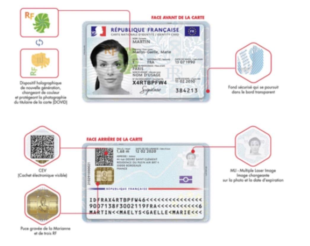 nouvelle carte identite