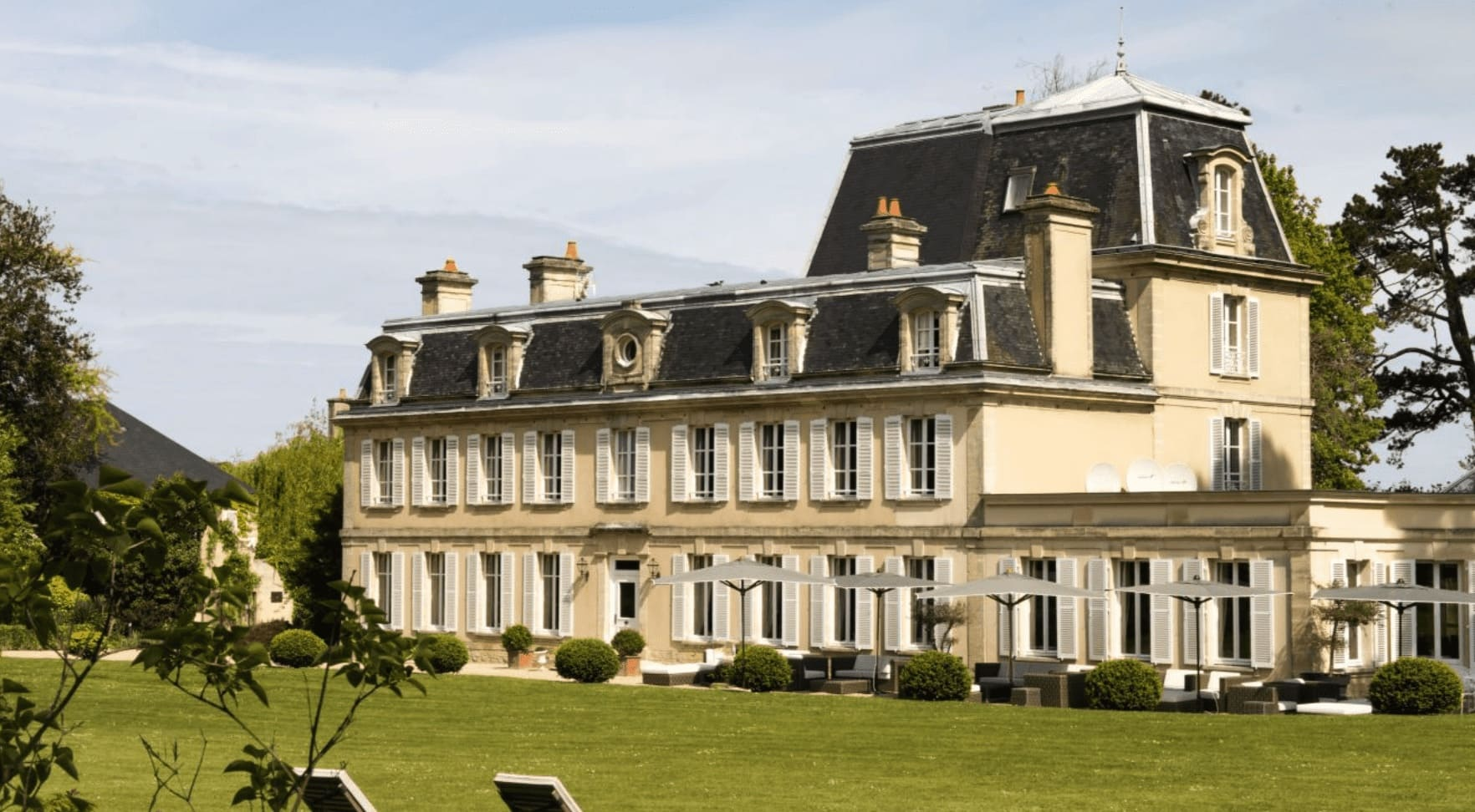 chateau de La Cheneviere